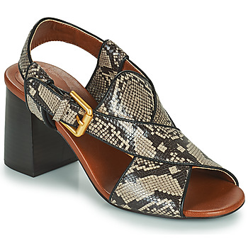 Zapatos Mujer Sandalias See by Chloé HELLA Beige / Gris