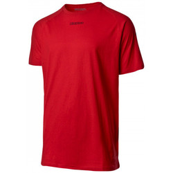 textil Camisetas manga corta Kappa Klake Red crimson-Black