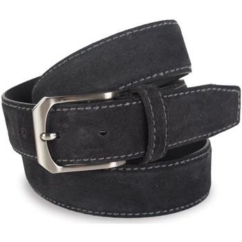 Accesorios textil Mujer Cinturones Lois Cinturón para mujer de Terciopelo de la firma Negro