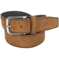 Accesorios textil Mujer Cinturones Lois Cinturón para mujer de Terciopelo de la firma Tan
