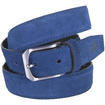 Accesorios textil Mujer Cinturones Lois Cinturón para mujer de Terciopelo de la firma Azul