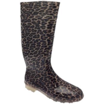 Zapatos Mujer Botas de agua Laura STIVGOANIMALIER marrone