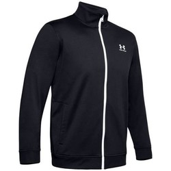 textil Hombre Sudaderas Under Armour Sportstyle Tricot Jacket Negros