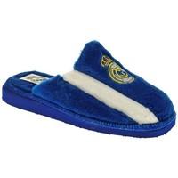 Zapatos Mujer Pantuflas Puche ZAPATILLAS SEÑORA  AZUL Azul