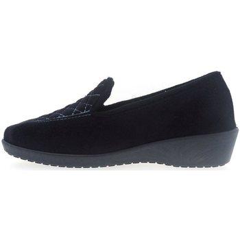 Zapatos Mujer Pantuflas Selquir Zapatillas de Casa 2204219 Negro Negro