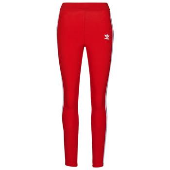 textil Mujer Leggings adidas Originals 3 STR TIGHT Rojo