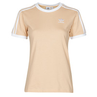 textil Mujer Camisetas manga corta adidas Originals 3 STRIPES TEE Naranja