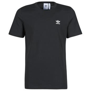 textil Hombre Camisetas manga corta adidas Originals ESSENTIAL TEE Negro