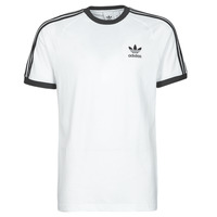 textil Hombre Camisetas manga corta adidas Originals 3-STRIPES TEE Blanco