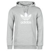 textil Hombre Sudaderas adidas Originals TREFOIL HOODIE Gris