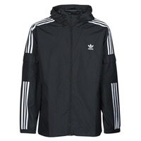 textil Hombre Cortaviento adidas Originals 3-STRIPES WB FZ Negro
