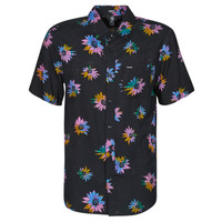 textil Hombre Camisas manga corta Volcom PLEASURE CRUISE S/S Negro