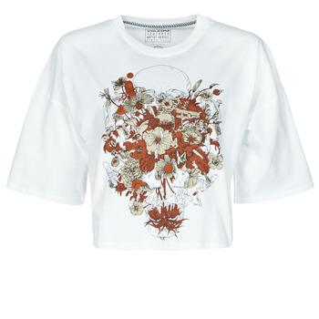 textil Mujer Camisetas manga corta Volcom FA FORTIFEM TEE Blanco