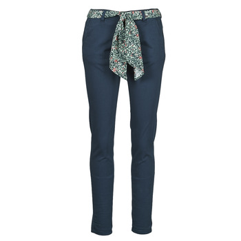 textil Mujer Pantalones chinos Le Temps des Cerises LIDY Azul
