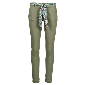 textil Mujer Pantalones chinos Le Temps des Cerises LIDY Kaki