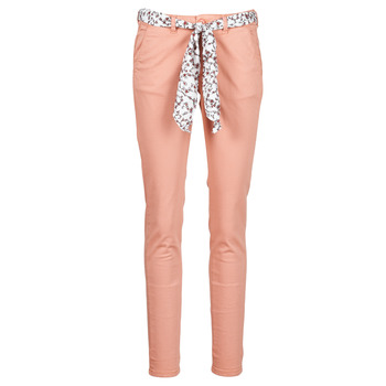 textil Mujer Pantalones chinos Le Temps des Cerises LIDY Rosa
