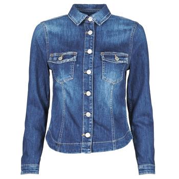 textil Mujer Chaquetas denim Le Temps des Cerises LILLY Azul