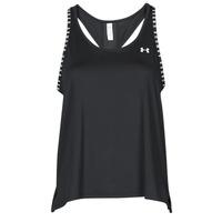 textil Mujer Camisetas sin mangas Under Armour UA KNOCKOUT TANK Negro