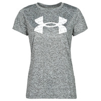 textil Mujer Camisetas manga corta Under Armour TECH TWIST BL SSC Gris