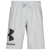 textil Hombre Shorts / Bermudas Under Armour UA RIVAL FLC BIG LOGO SHORTS Gris