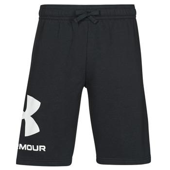 textil Hombre Shorts / Bermudas Under Armour UA RIVAL FLC BIG LOGO SHORTS Negro