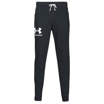 textil Hombre Pantalones de chándal Under Armour UA RIVAL TERRY JOGGER Negro