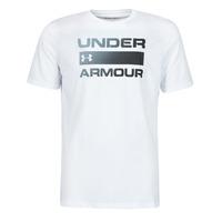 textil Hombre Camisetas manga corta Under Armour UA TEAM ISSUE WORDMARK SS Blanco