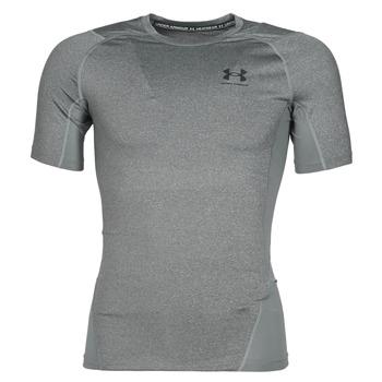 textil Hombre Camisetas manga corta Under Armour UA HG ARMOUR COMP SS Gris