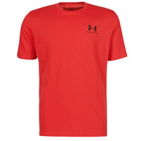 textil Hombre Camisetas manga corta Under Armour UA SPORTSTYLE LC SS Rojo