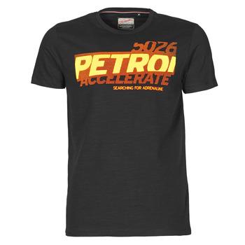 textil Hombre Camisetas manga corta Petrol Industries T-SHIRT SS R-NECK F Negro