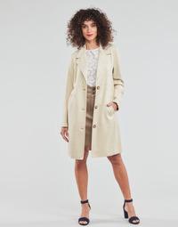 textil Mujer Abrigos Esprit SUEDE COAT Beige