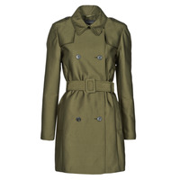 textil Mujer Trench Esprit TRENCH COURT Verde / Oliva