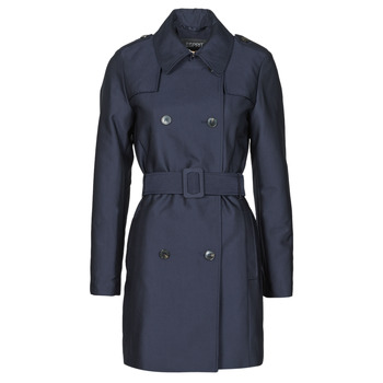 textil Mujer Trench Esprit TRENCH COURT Azul