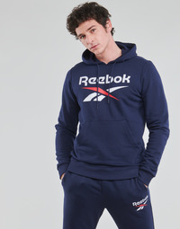 textil Hombre Sudaderas Reebok Classic RI FT OTH BL HOODIE Azul
