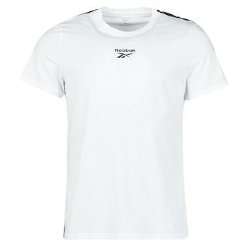 textil Hombre Camisetas manga corta Reebok Classic TE TAPE TEE Blanco