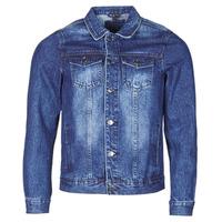 textil Hombre Chaquetas denim Yurban OPSI Azul / Medium