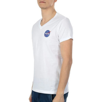 textil Hombre Camisetas manga corta Nasa  Blanco