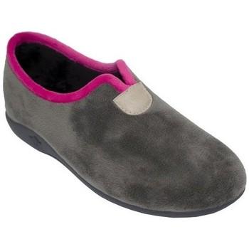 Zapatos Mujer Pantuflas Cbp - Conbuenpie Zapatillas de casa para mujer by CBP Home Gris