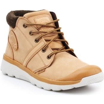 Zapatos Hombre Zapatillas altas Palladium Manufacture Pallaville HI Cuff L Beige