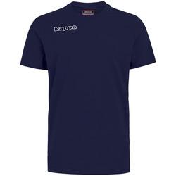 textil Niño Tops y Camisetas Kappa T-shirt enfant  Tee bleu royal