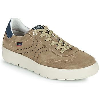 Zapatos Hombre Zapatillas bajas CallagHan RED Beige