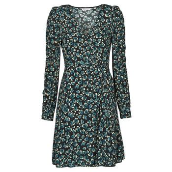 textil Mujer Vestidos cortos Naf Naf LEO R1 Leo / Negro / Verde