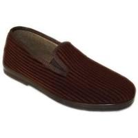 Zapatos Hombre Pantuflas Cbp - Conbuenpie Zapatillas de casa para hombre by CBP Home Marron