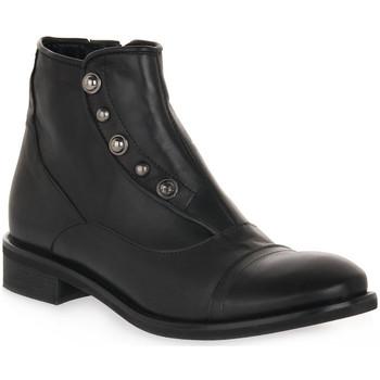 Zapatos Mujer Botines Priv Lab 3135 SQUAMA NERO Nero