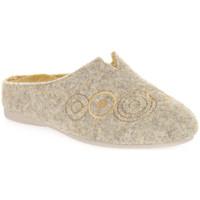 Zapatos Mujer Pantuflas Emanuela 1527 GIALLO DOU Giallo