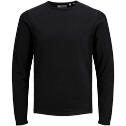 textil Niño Jerséis Jack & Jones 12146801 PKTHNN BASIC CREW NECK KNIT JUNIOR BLACK Negro