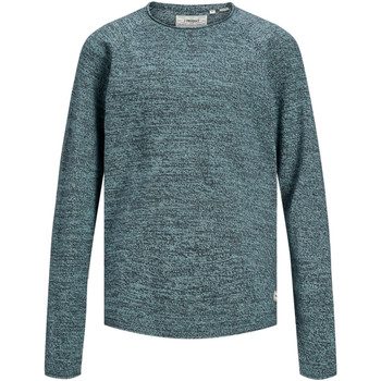 textil Niño Jerséis Jack & Jones 12155468 PKTHNN SIDE CREW NECK KNIT JUNIOR ANGEL BLUE Azul