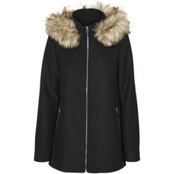 textil Mujer Abrigos Vero Moda 10230890 VMCOLLARYORK COLLAR WOOL JACKET GA NOOS BLACK Negro