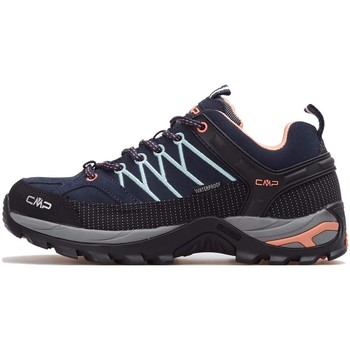 Zapatos Mujer Running / trail Cmp Rigel Wmn WP Negros,Grises,Azul marino