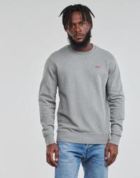 textil Hombre Sudaderas Levi's NEW ORIGINAL CREW Gris